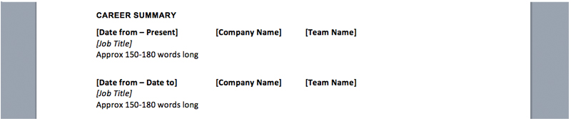 Business Analyst Resume Career