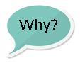 5 Why's Speech Bubble