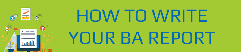 how to write a business analysis paper