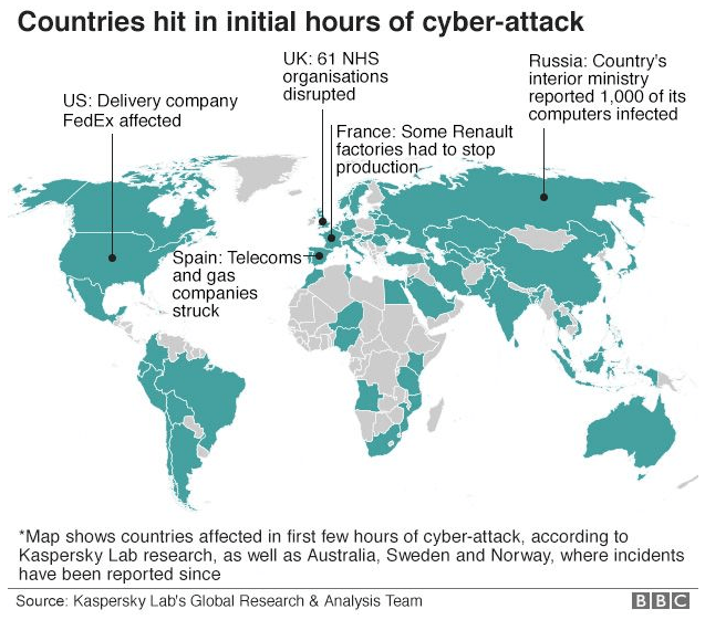 NHS-Cyber-Attack-Map
